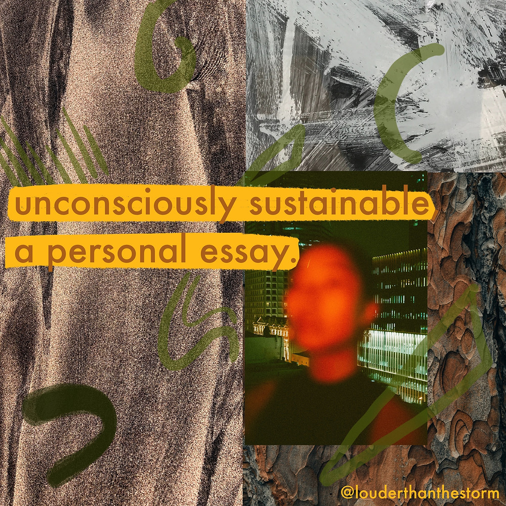 Decorative header image with the title of the piece against a collage background of earthy tones and images