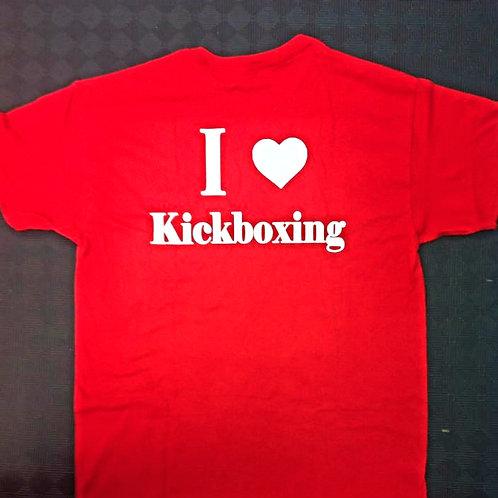 I Love Kickboxing Shirt