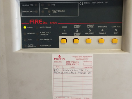 New fire alarm maintenance contract in Southwell