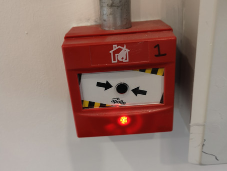 Weekly fire alarm testing in Nottingham