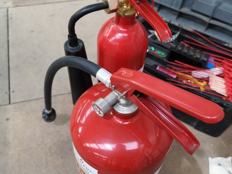 Fire extinguisher servicing in Melton