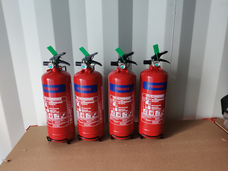 Fire extinguisher commissioning in Nottingham