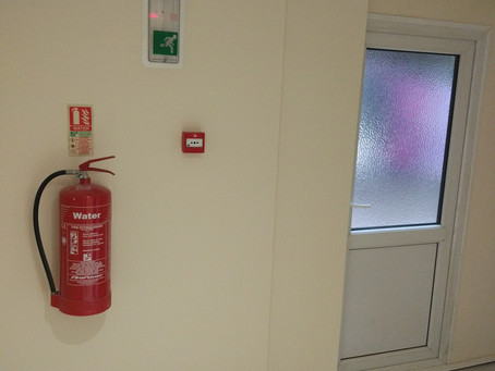 Complete package - fire extinguishers, fire alarm & emergency light testing.