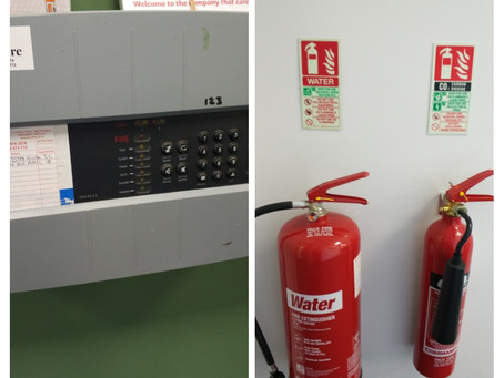 Fire extinguisher & fire alarm maintenance in Nottingham