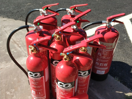 Installation of fire extinguishers in Nottingham