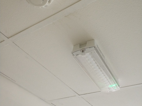 Faulty Emergency light replacement.