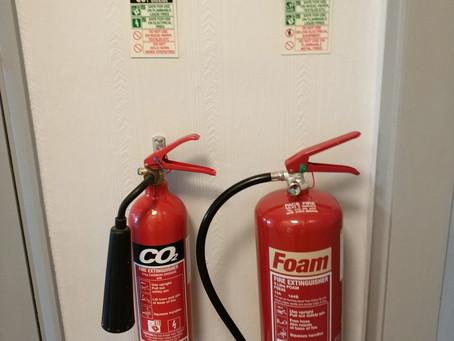 Fire extinguisher servicing in Nottingham