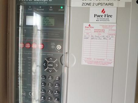 Fire alarm maintenance in Nottingham