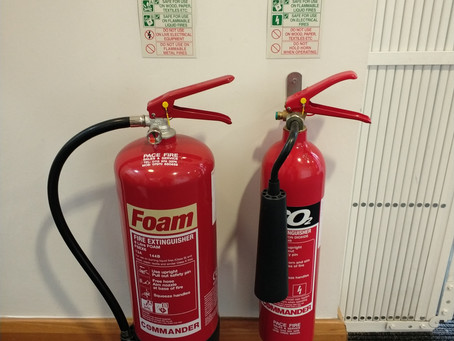 Fire extinguisher servicing in Derby. Customer for over 13 years.