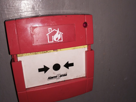 Fire alarm call point replaced.