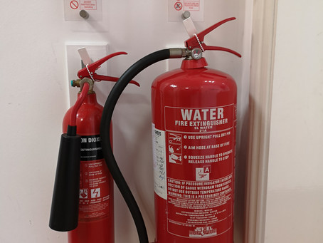 Fire extinguisher maintenance in Nottingham