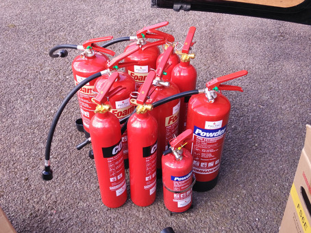 Supply and Commissioning of new fire extinguishers.