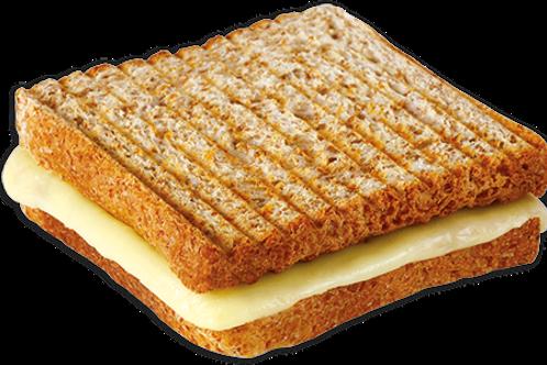 Kepekli kaşarlı jumbo tost