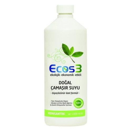 Ecos3 DOĞAL ÇAMAŞIR SUYU 1000ML