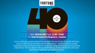 40 Yaş Altı 40 Yönetici Ödülü 28 Ocak'ta