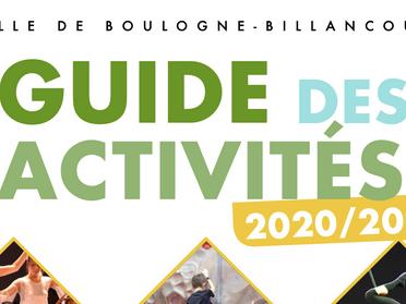 Guide 2020/2021 des activités est en ligne
