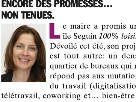 BBI octobre 2020 : Encore des promesses…non tenues.