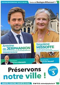 AFFICHE ANTOINE DE JERPHANION - SEGOLENE