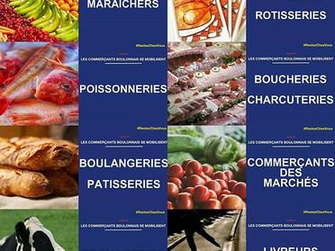 Notre initiative pour aider les commerçants et artisans Boulonnais