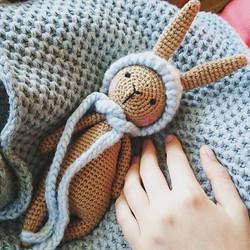 Cotton Crochet Bunny Rabbit