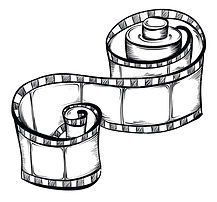 40460589-Film-strip-Vector-hand-drawn-il