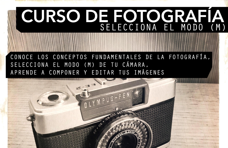 Curso de Fotografía (pendiente de fecha)