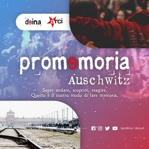 Promemoria_Auschwitz 2021 - Non smetteremo di viaggiare
