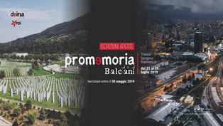 Aperte le iscrizioni a Promemoria_Balcani 2019