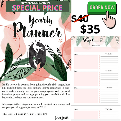 Dropping Jewels Planner