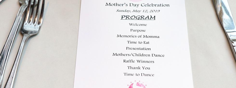 1st Annual Mother's Day Celebration-Program