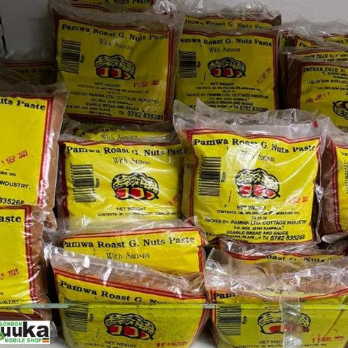 Roast Ground Nuts with Simsim