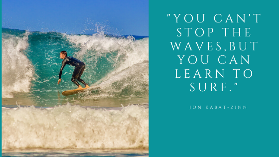 Surf the wave.