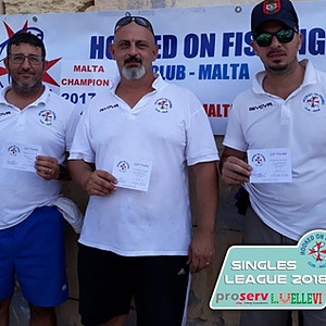 4th Match HOFC Proserv Ellevi Singles League 2018