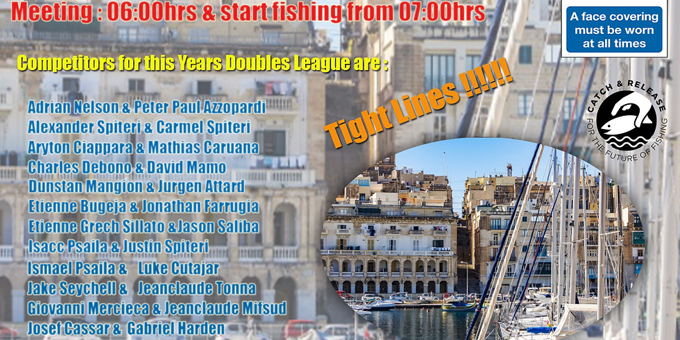 HOFC Tubertini Go Fish Doubles League 2021 - 1st Match