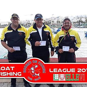 4th Match HOFC Ellevi Float Fishing League 2018