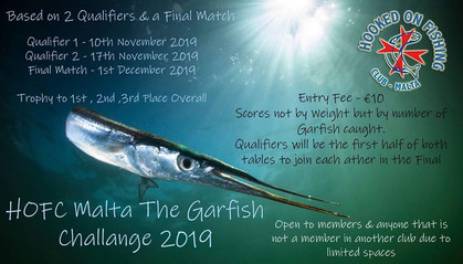 HOFC The Garfish Challenge 2019