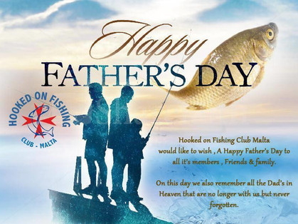 Happy Father's Day to all it's members , sponsors , Friends & family including all other Angling