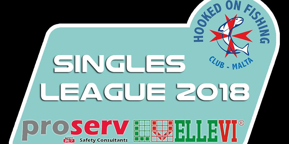 HOFC Proserv Ellevi Singles League Registration 2018