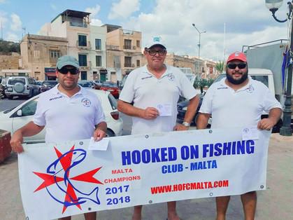 1st Match HOFCEllevi Float Fishing League 2019
