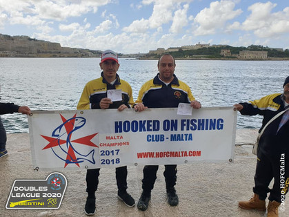 Nothing is Stopping Jonathan & Etienne in 1st Place for the 3rd time in a row in this years HOFC
