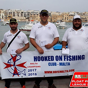 2nd Match HOFC Ellevi Float Fishing League 2018