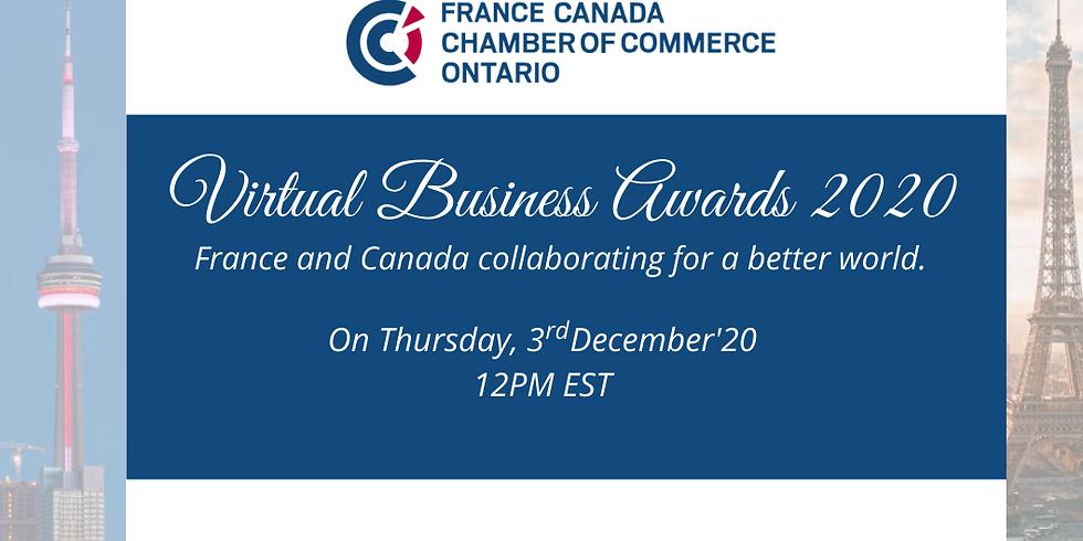 Virtual Business Awards Ceremony 2020