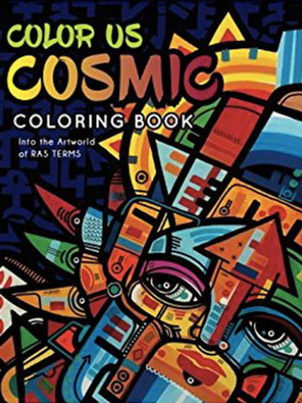 Color Us Coloring Cosmic Book