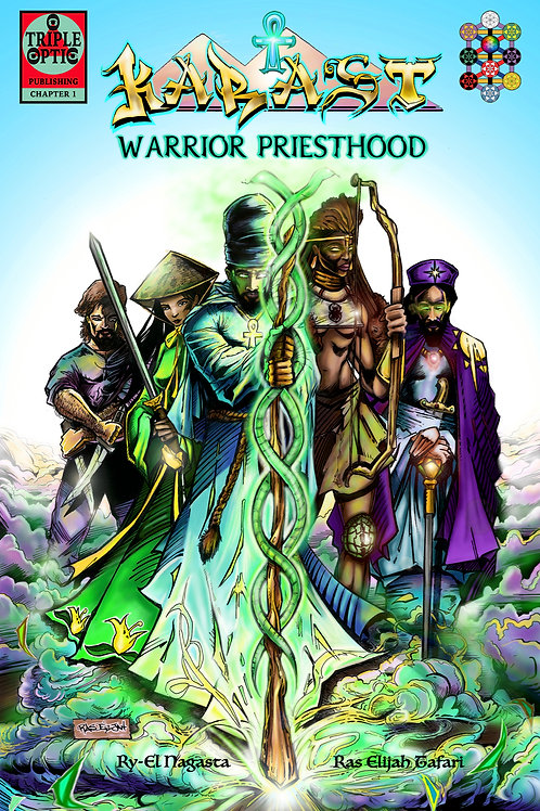 KARAST Warrior Priesthood ch1 comic book.