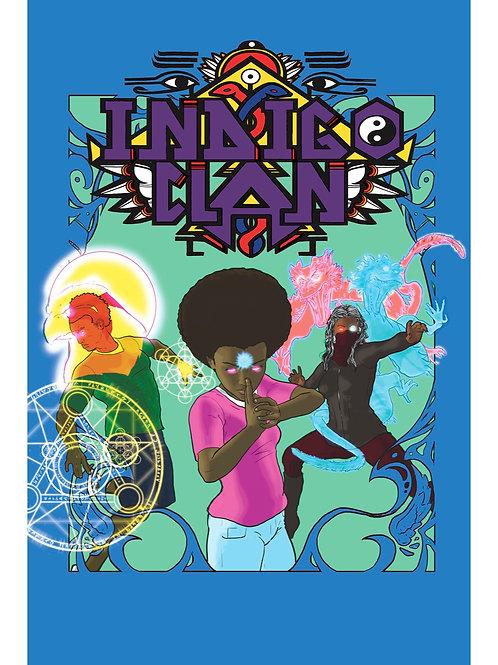 Indigo Clan chapter 1 graphic novel