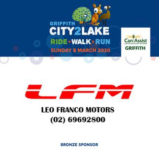 city2lake sponsor - bronze -  leo franco