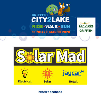 City2Lake Sponsor - Bronze - Solar Mad 2
