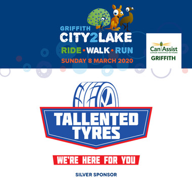 city2lake sponsor - silver - tallented t