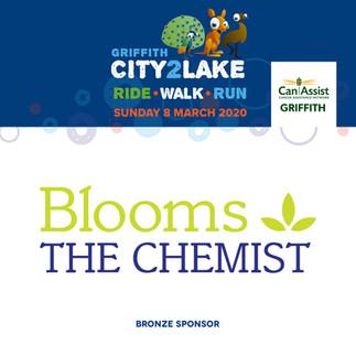 city2lake sponsor - bronze -  blooms the