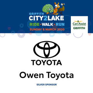 city2lake sponsor - silver - owen toyota